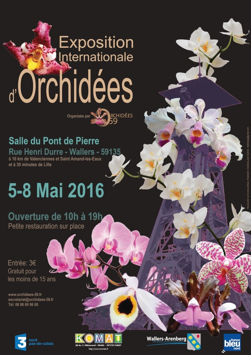 Exposition internationale d'orchidées de Wallers  - Mai 2016 Festiv10
