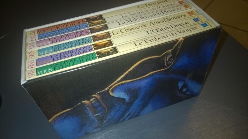 "Ma ""Dragon d'or box"" et ma ""Sorcery Box"" 110"