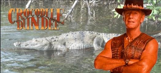 Crocodile Dundee la trilogie Crocod15