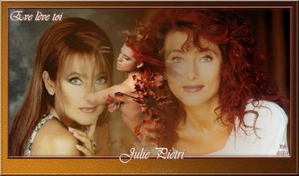 Bannières et photos sur les  chanteurs et chanteuses des années 80 (Créa Pat ) Julie_10