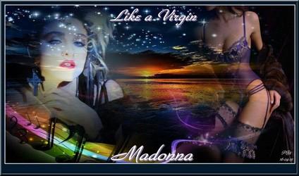 Bannières et photos sur les  chanteurs et chanteuses des années 80 (Créa Pat ) Madonn10