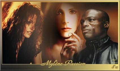 Bannières et photos sur les  chanteurs et chanteuses des années 80 (Créa Pat ) - Page 2 Mylene14