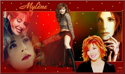 Bannières et photos sur les  chanteurs et chanteuses des années 80 (Créa Pat ) - Page 2 Mylene18