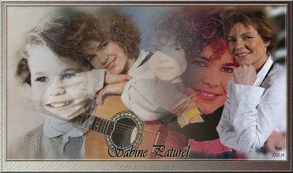 Bannières et photos sur les  chanteurs et chanteuses des années 80 (Créa Pat ) - Page 2 Sabine10
