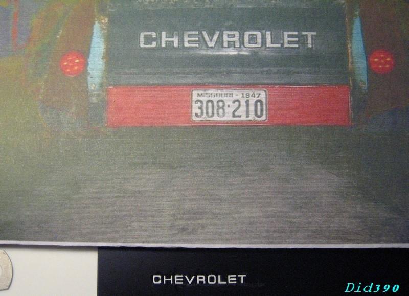 "#48 Chevy '47  ""cone's killer"" update du 9 octobre 5610"