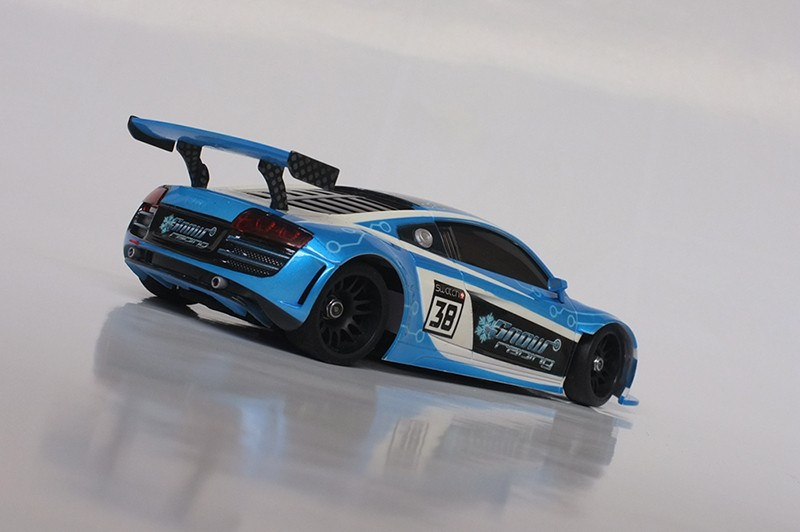"Audi R8 ""SnowRacing"" 00410"