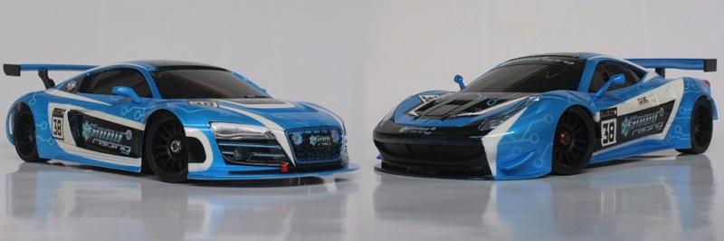 "Audi R8 ""SnowRacing"" Montag10"