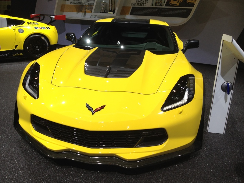 The limited edition 2016 Corvette Z06 C7.R Edition Img_1914