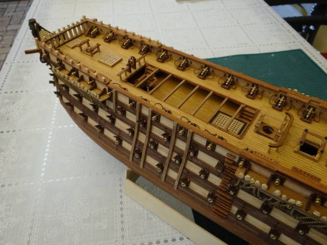 Rolf52 Baubericht zur Santissima Trinidad von OcCre - Seite 3 K-dsc020