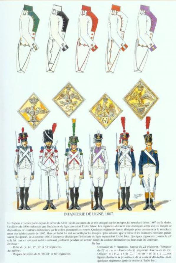Uniforme de l'armée française Lignef12