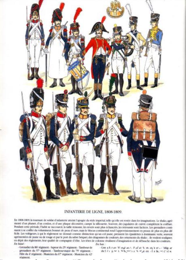 Uniforme de l'armée française Lignef13