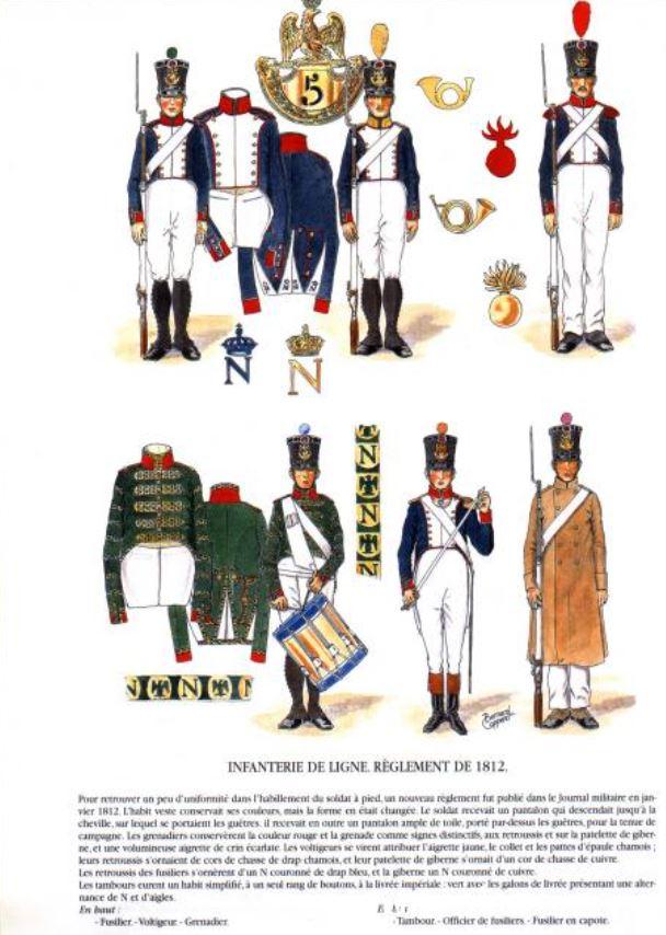 Uniforme de l'armée française Lignef16
