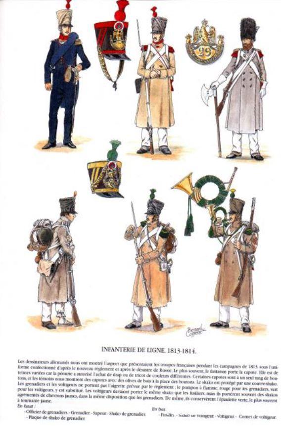 Uniforme de l'armée française Lignef17
