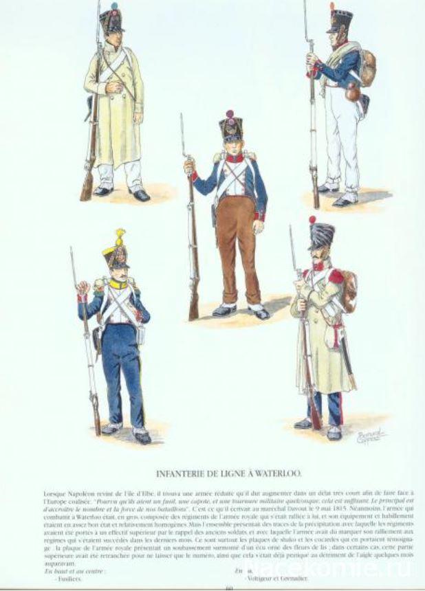 Uniforme de l'armée française Lignef18