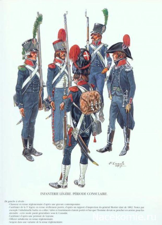 Uniforme de l'armée française Lignef20