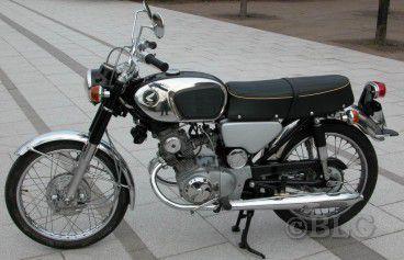 Restauration Honda K4 K110