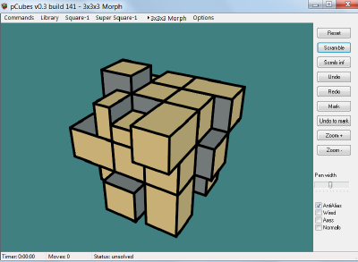 New RubikMorph program 3x3x3_10