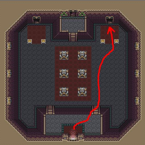 Legend of Zelda - Echoes of the Past Key0110