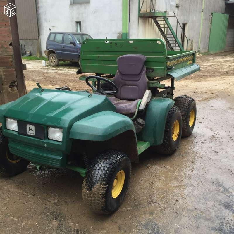 Gator 6x4 à moteur de voiture et jumelage des roues AR 6x4_ro19