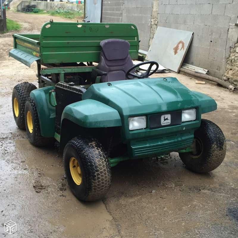 Gator 6x4 à moteur de voiture et jumelage des roues AR 6x4_ro22