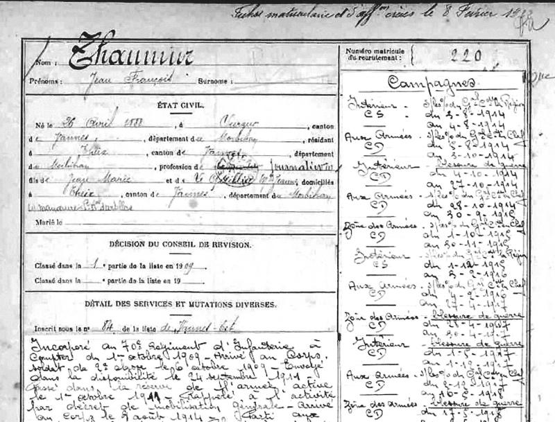 [ Histoires et histoire ] LE CENTENAIRE DE LA GRANDE GUERRE - Page 4 Fiche_10