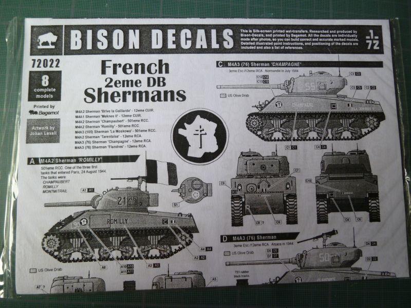 """(Heller) Sherman M4A2 """"Division Leclerc"""" P1040734"""