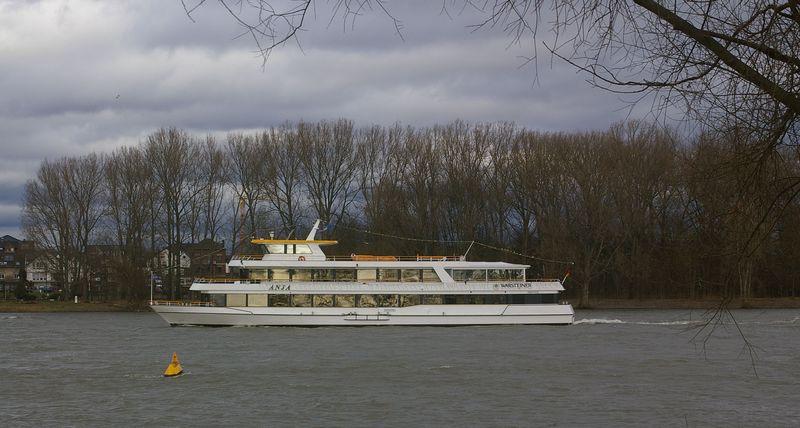 Was alles so auf dem Rhein schwimmt Imgp0928