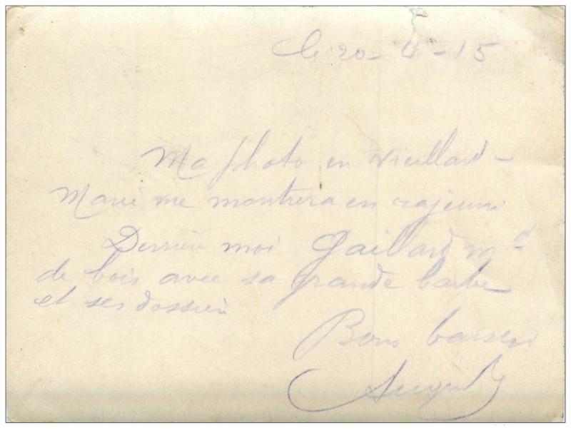 102° REGIMENT d'INFANTERIE de CHARTRES - GROUPE DE POILUS LE 20 AVRIL 1915 943_0010