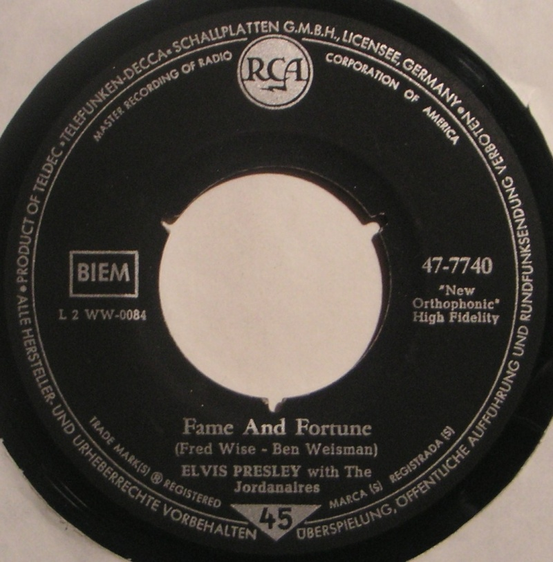 Stuck On You / Fame And Fortune 24c10