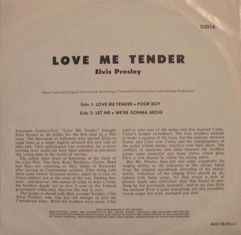 LOVE ME TENDER 2a11