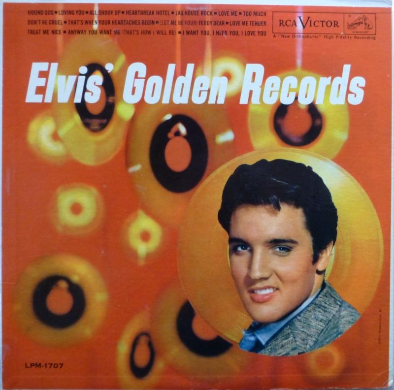 ELVIS' GOLD RECORDS  P1070034