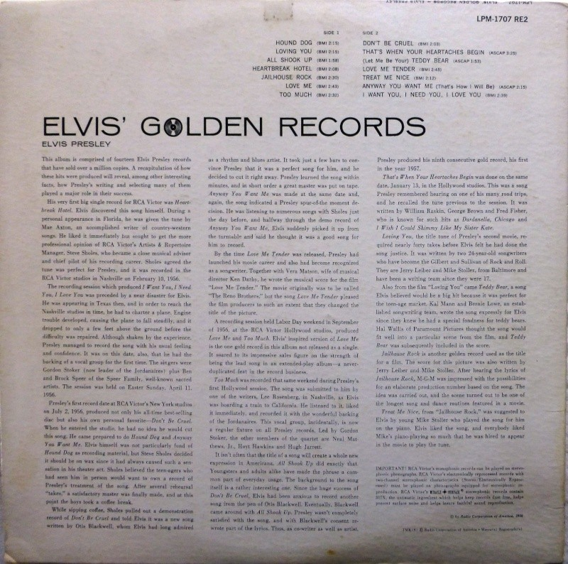 ELVIS' GOLD RECORDS  P1070035