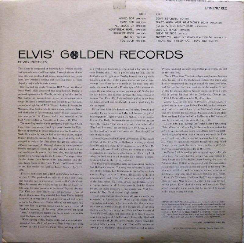 ELVIS' GOLD RECORDS  P1070035