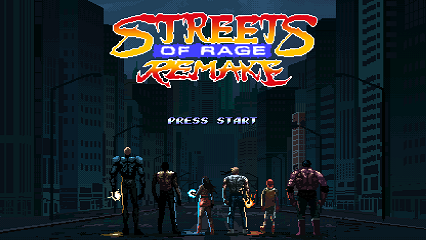 NEW- Streets of Rage Remake v5.2 Download and Info Title_11