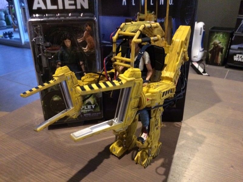 Aliens Ripley et son Power loader Neca 2016 Img_2611