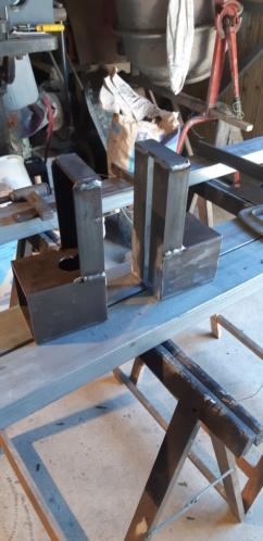 fabrication d'un tréteau a rouleau 20200315
