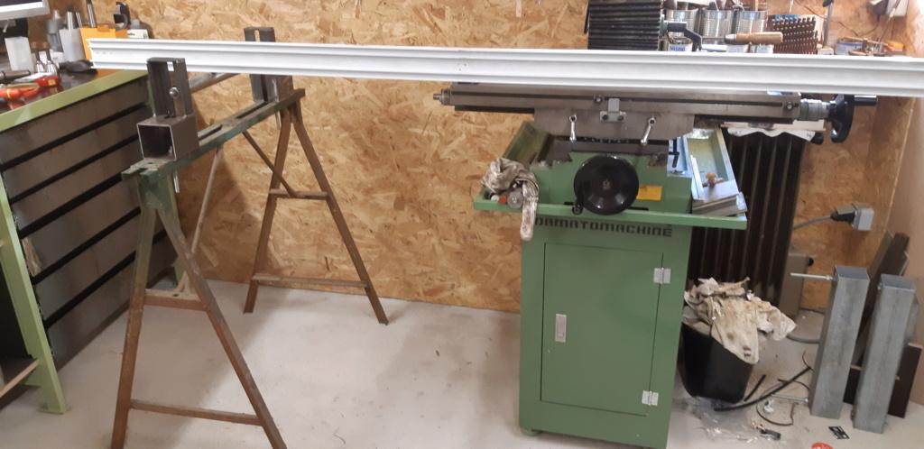 fabrication d'un tréteau a rouleau 20200319