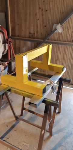 fabrication d'un tréteau a rouleau 20200322