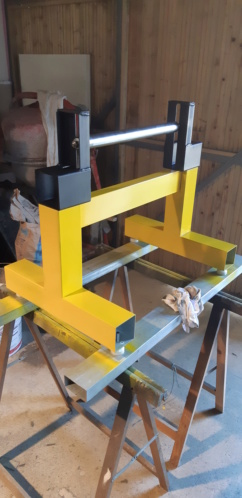 fabrication d'un tréteau a rouleau 20200323