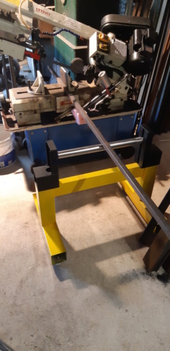fabrication d'un tréteau a rouleau 20200324