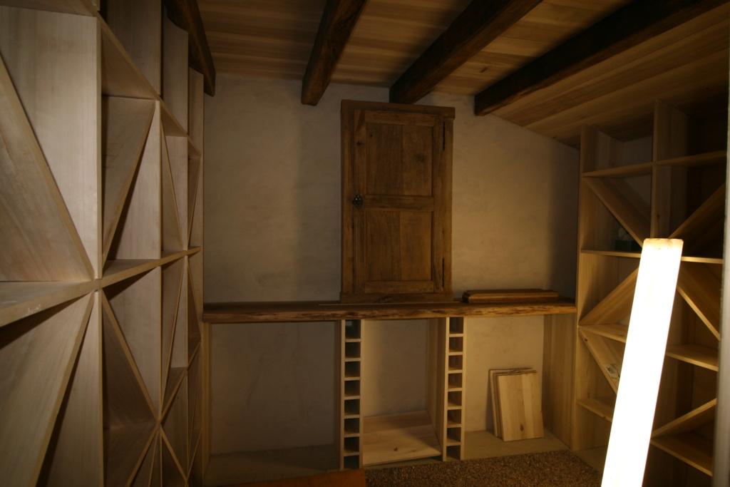 aménagement d'un cellier en cave a vin Img_5618
