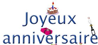 Joyeux Anniversaire Cyril 12 03 16