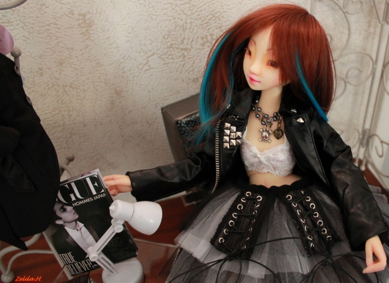 Ondora...Rock'in pose [Pandore humain Woodolls] Pandor15