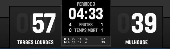 [J.24] Union Tarbes Lourdes Pyrenees Basket - FC MULHOUSE : 90 - 64 - Page 3 Captur16