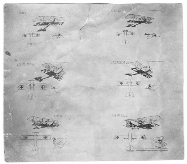 livret pour identification des avions  Silhou10