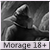Boutons Morage 50x50m11