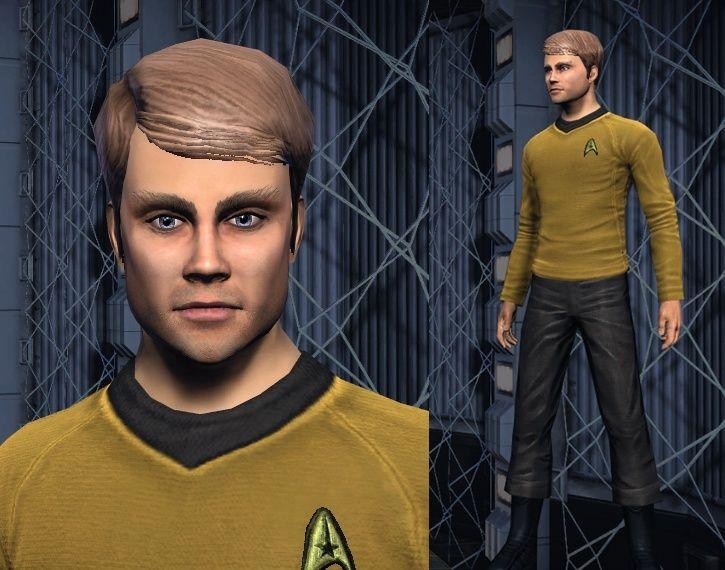 tactique - Kirk (des derniers films) sur androide tactique Captur41