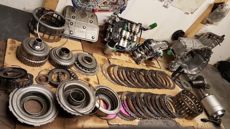 GTR35 gearbox issues again 20160210