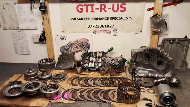 GTR35 gearbox issues again 20160214