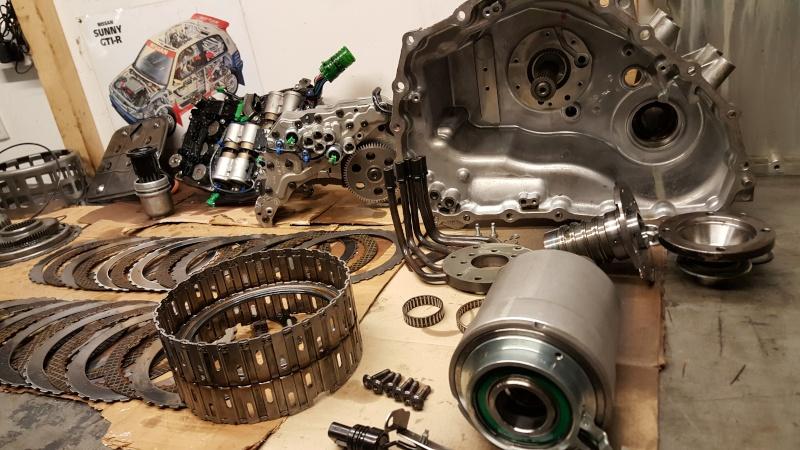 GTR35 gearbox issues again 20160215